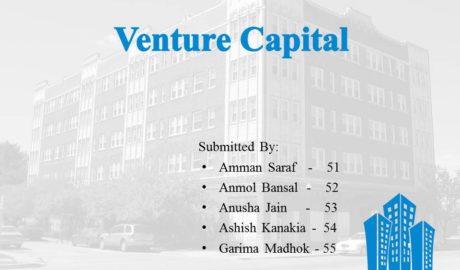 Venture Capital Project/Presentation