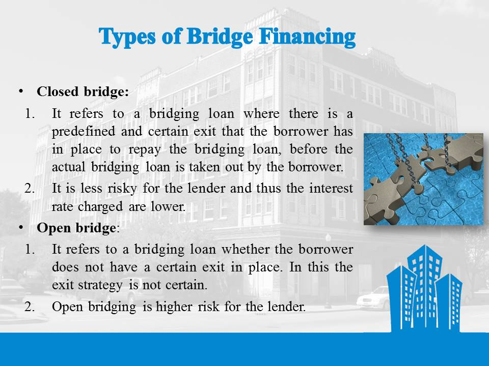 Types of Bride Financing