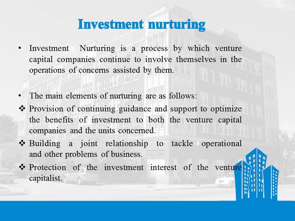 Investment Nurturing
