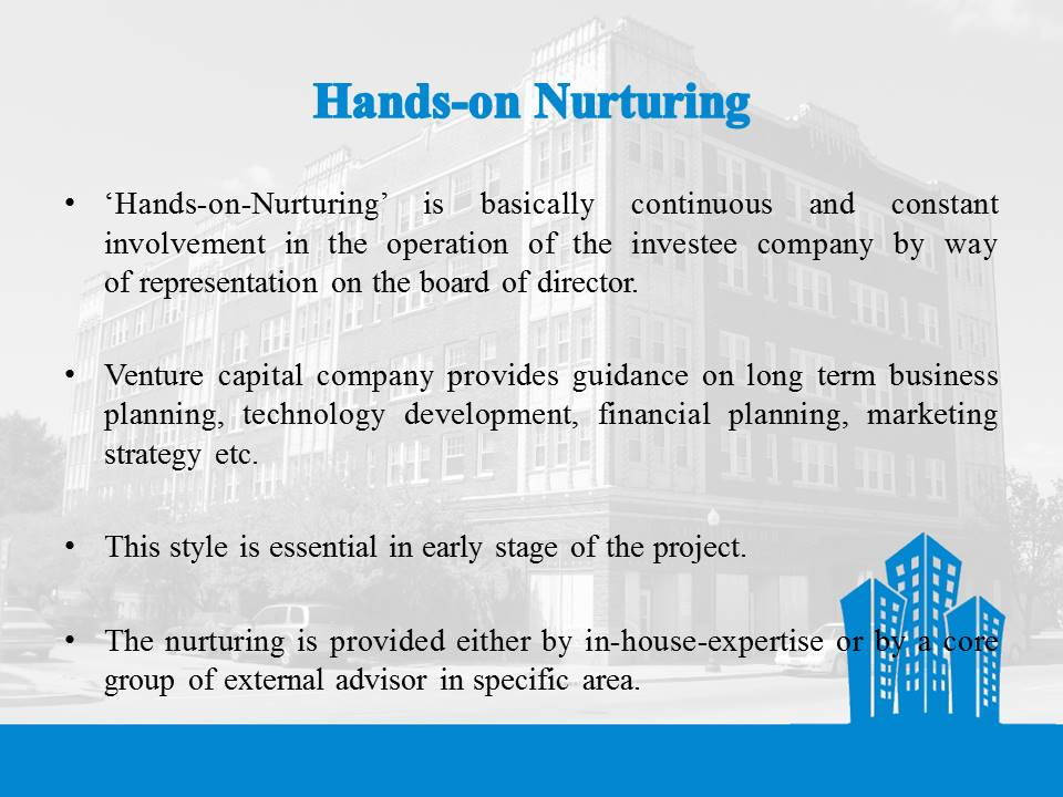 Hands on Nurturing