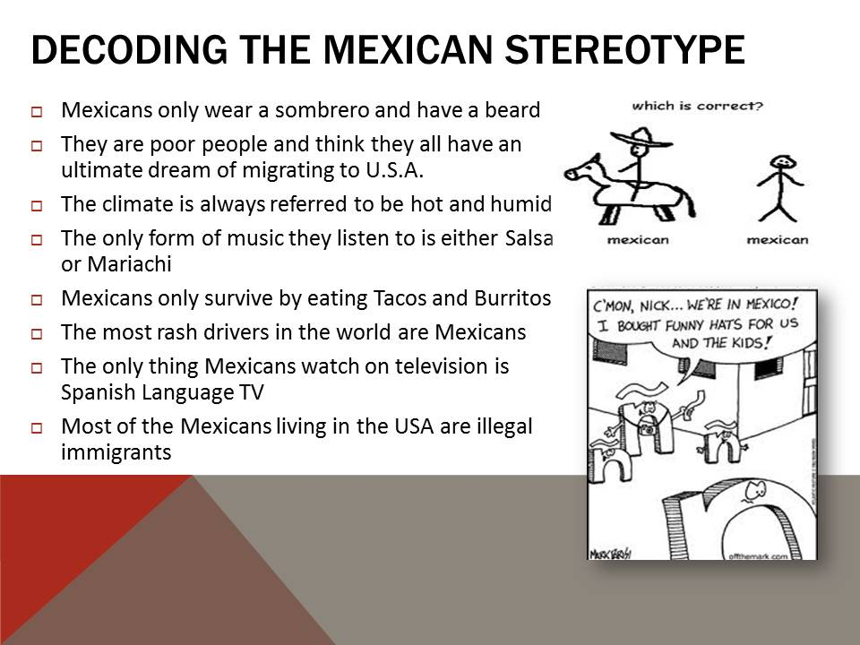 Mexican Stereotype