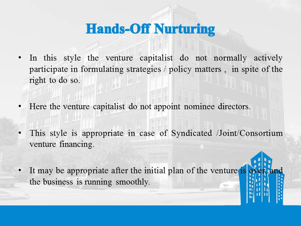 hands off Nurturing