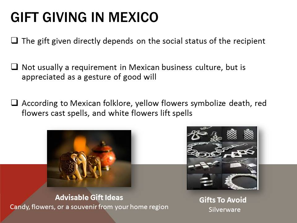 Gift Giving in Mexico