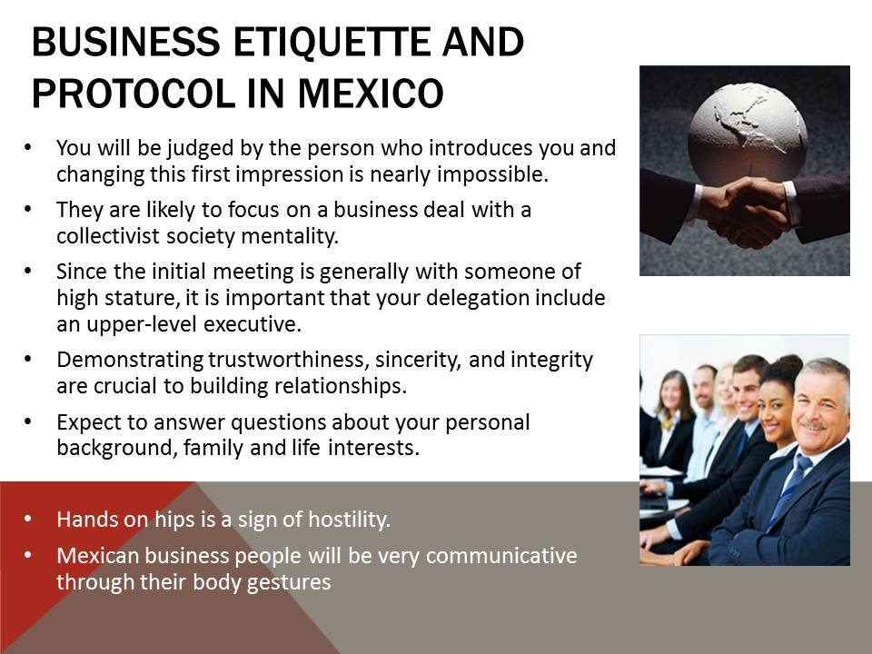 Business Etiquette and Protocol in Mexico