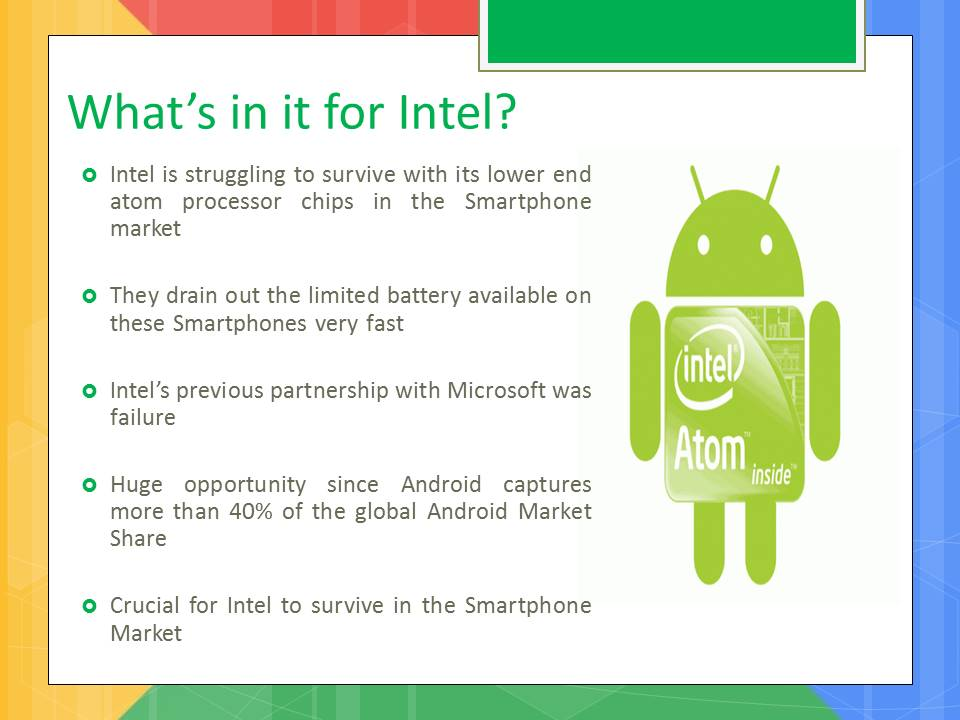 Google & intel