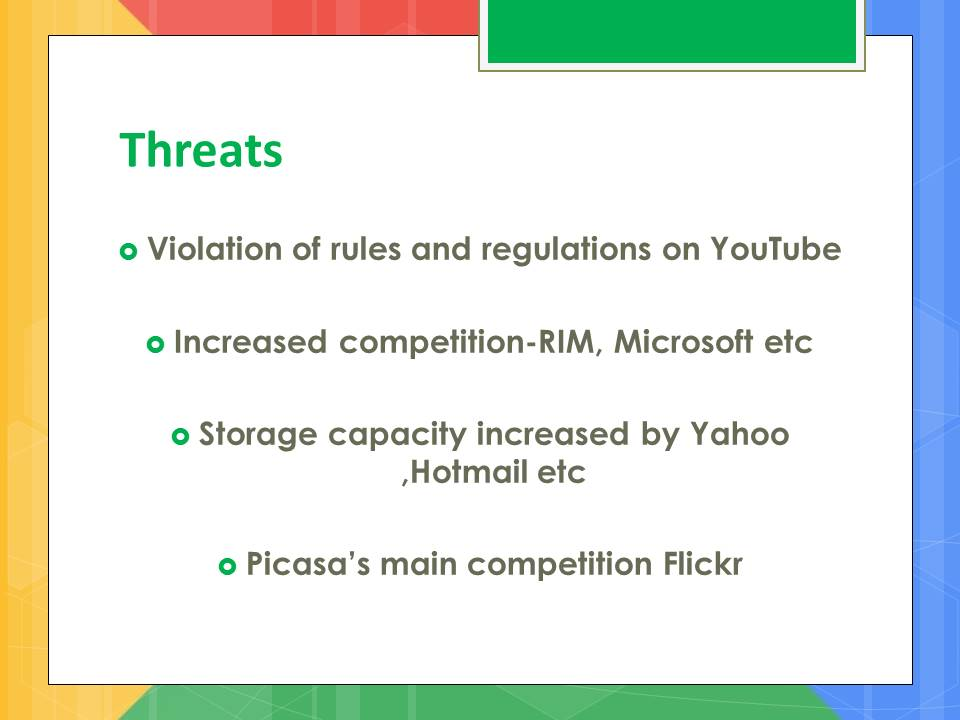 google threats