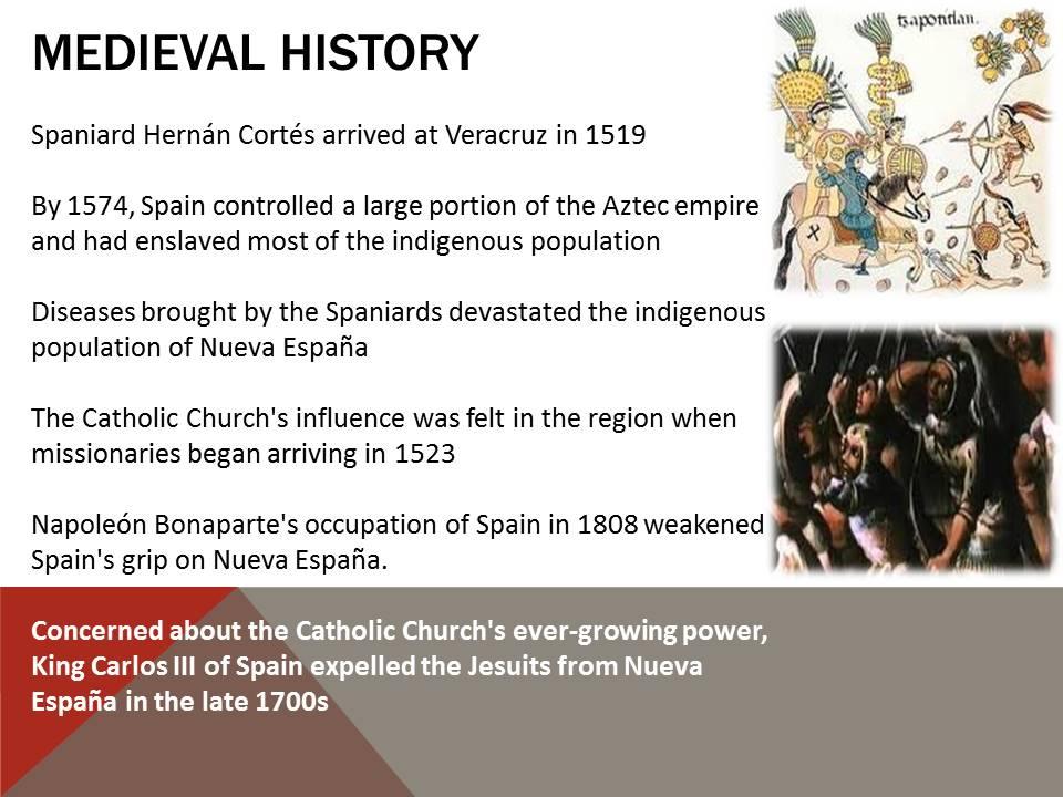 Medieval history mexico