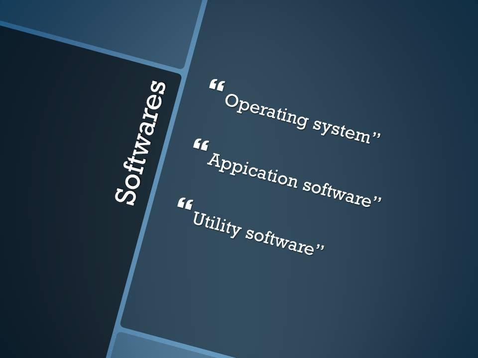 Mobile Computing Software