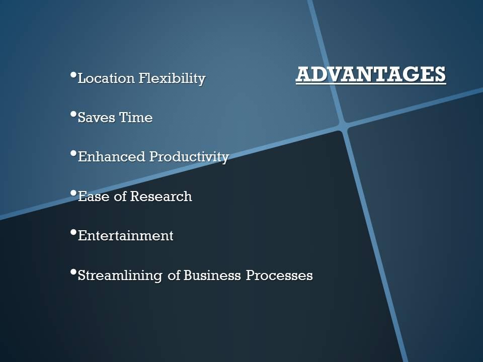 Mobile Computing Advantages