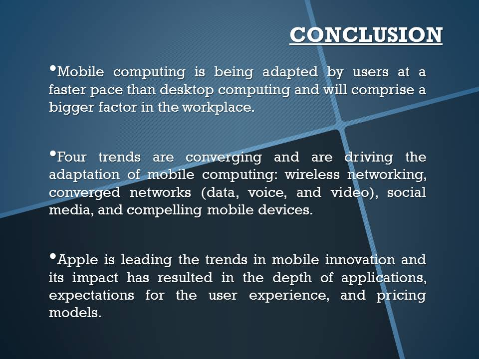 impact of mobile computing