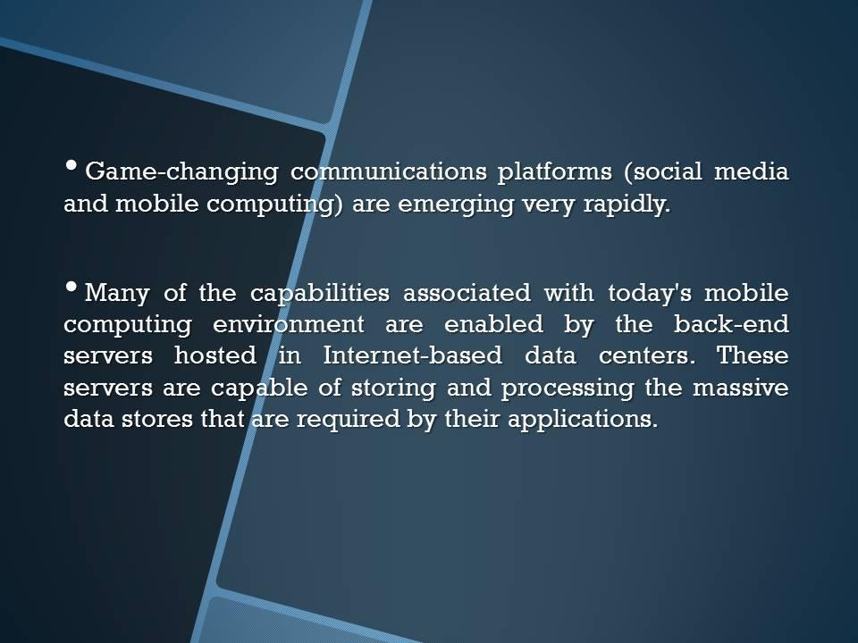 Mobile Computing Conclusion