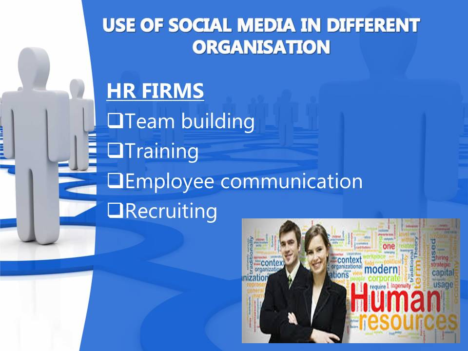 Uses of Social media by HR firms