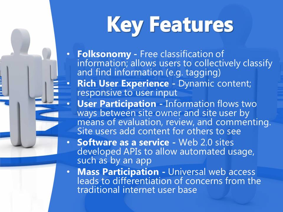Key Features of Web 2.0