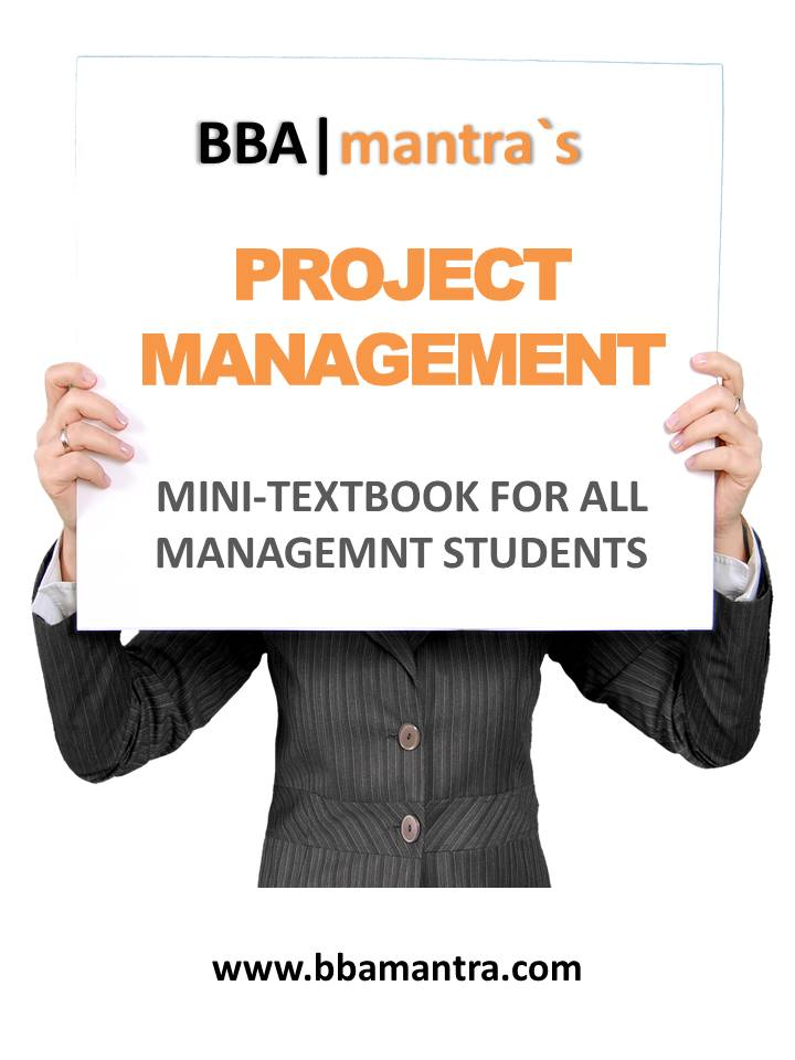 Best Project Management Notes/Ebook for free by BBA|mantra