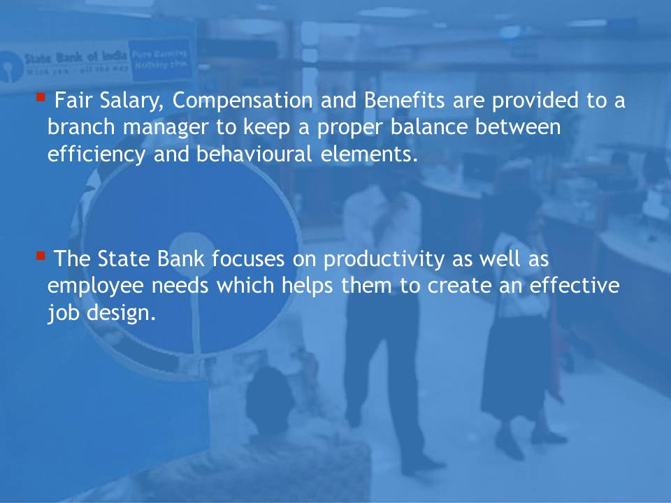 Suggestions to SBI