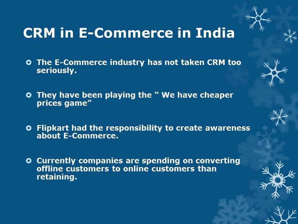 CRM in India