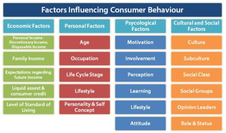 Consumer behavior and its influence in store operation iibm.