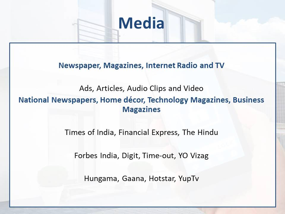 Media Plan for Home Automation