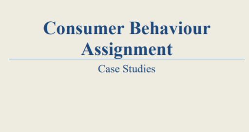 Consumer Behaviour Solved Case Study Matin Khan - BBA|mantra