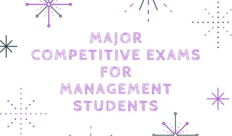 Competitive exams for management students in India