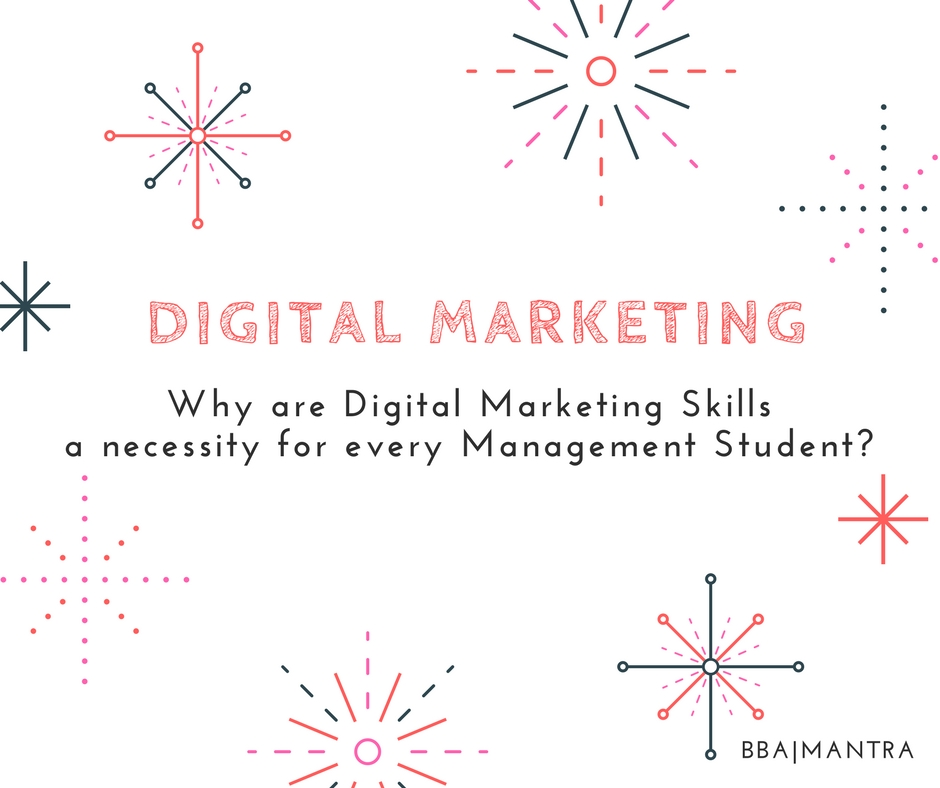 Digital Marketing Skills For Management Students In India