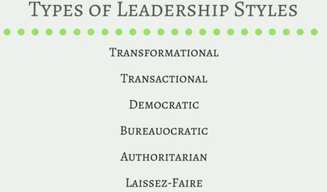 Types of Leadership Styles