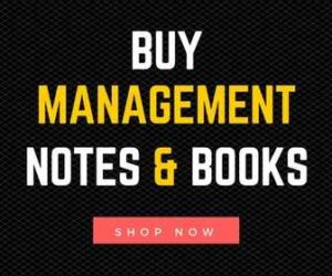 Buy Management Notes & Books